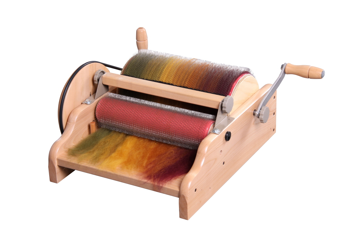 A128 Wide Drum Carder - Fine - 72 Point Image