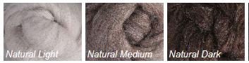 Merino Natural Sliver 500g Image