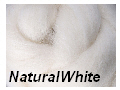 C091 Natural White Corriedale Sliver 1kg Image