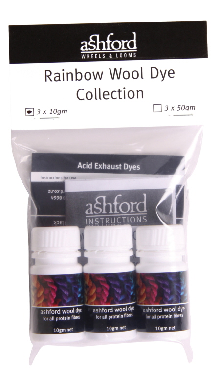 A192 Wool Dyes Rainbow Collection (3 x 10g) Image