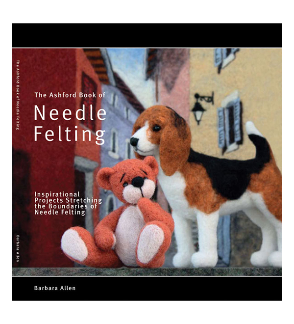 B12 Ashford Book of Needle Felting - Barbara Allen Image
