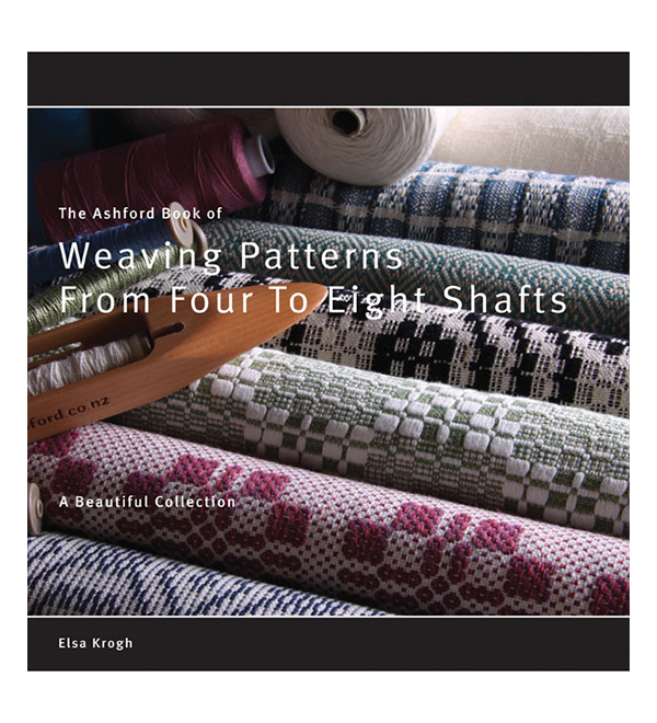 B40 Ashford Book of Weaving Patterns - 4 to 8 Shafts - Elsa Krogh Image