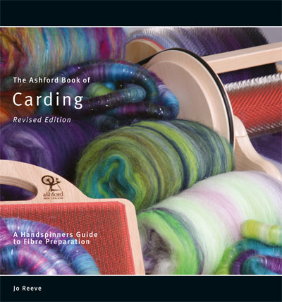 B11 Ashford Book of Carding - Jo Reeve Image
