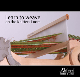 B37 Learn to Weave on the Knitters Loom Image