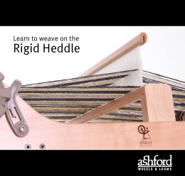 B43 Learn to Weave on the Rigid Heddle Loom Image