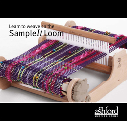 B36 Learn to Weave on the SampleIt Loom Image
