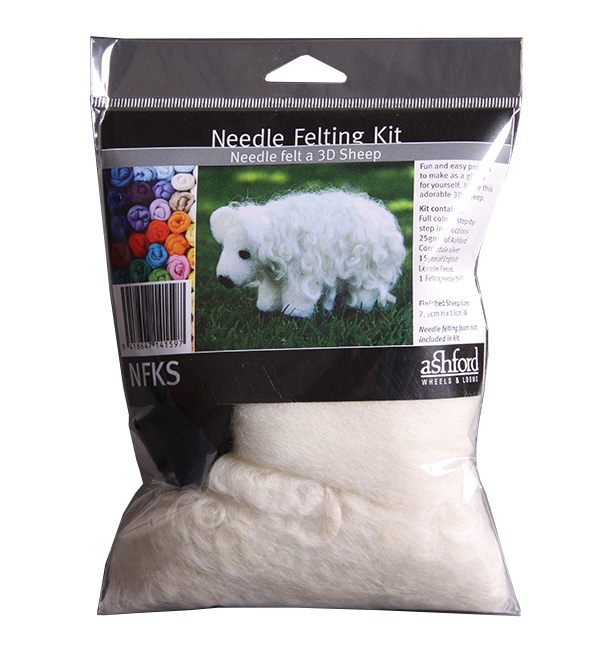 A317 Needle Felting Kit - Sheep Image