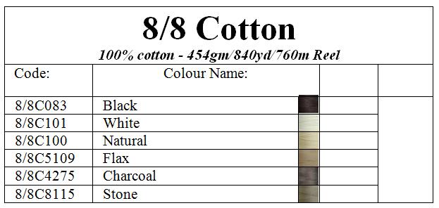 8/8 Cotton Image