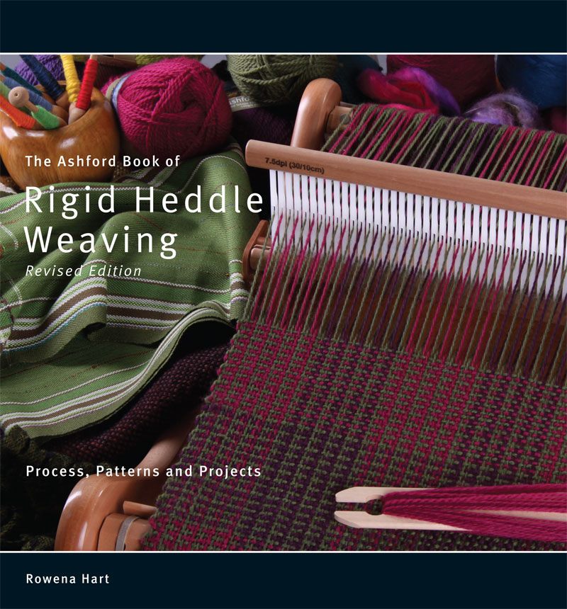 B33 Ashford Book of Rigid Heddle Weaving - Rowena Hart Image